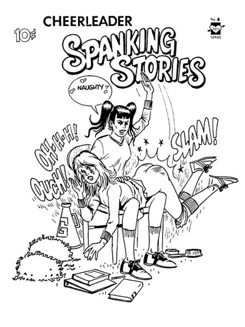 Cheerleading spank stories