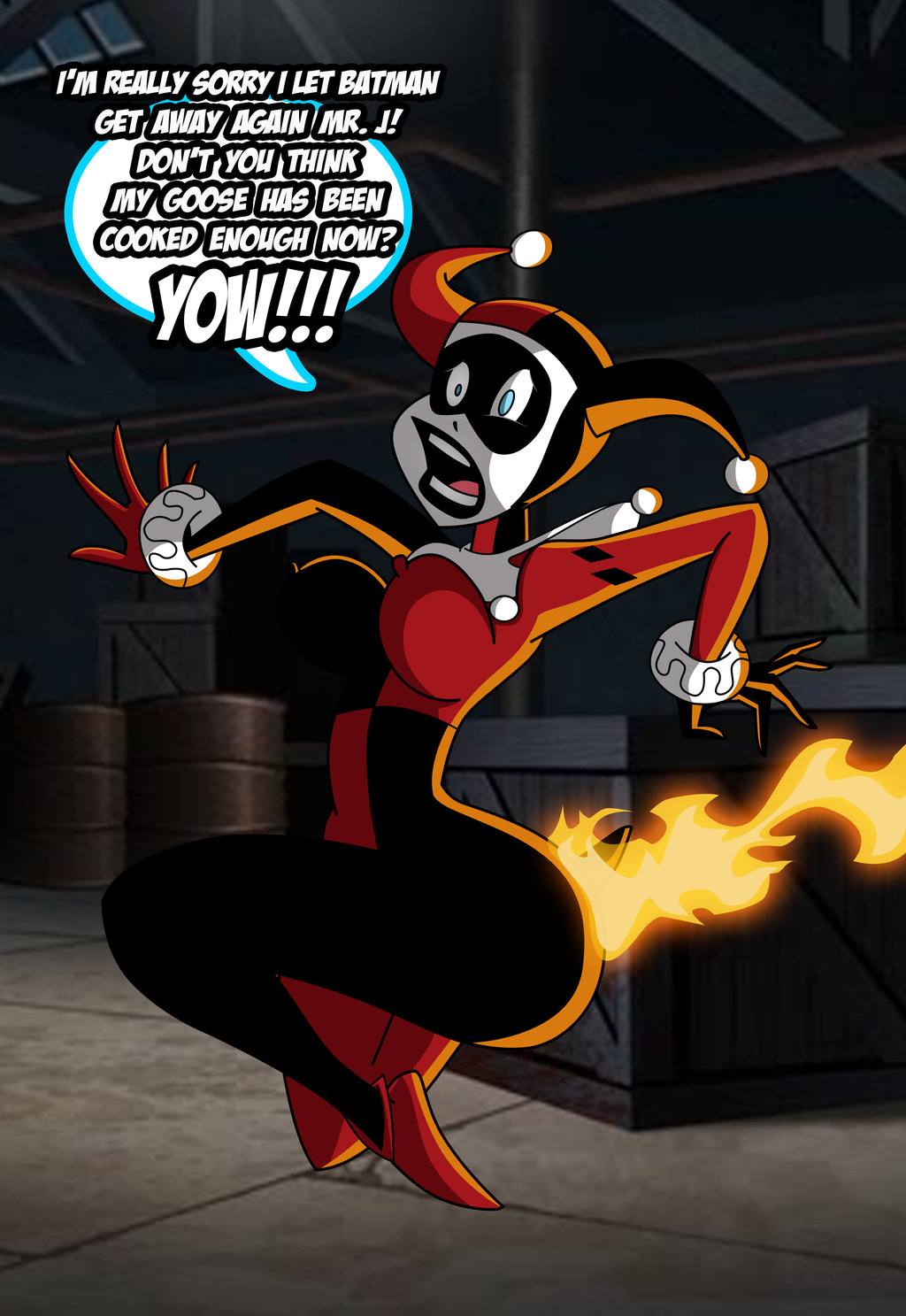 Cartoon Harley Quinn Porn