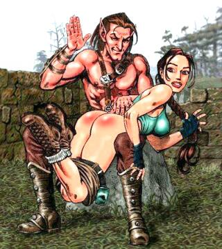 kraft spank Lara