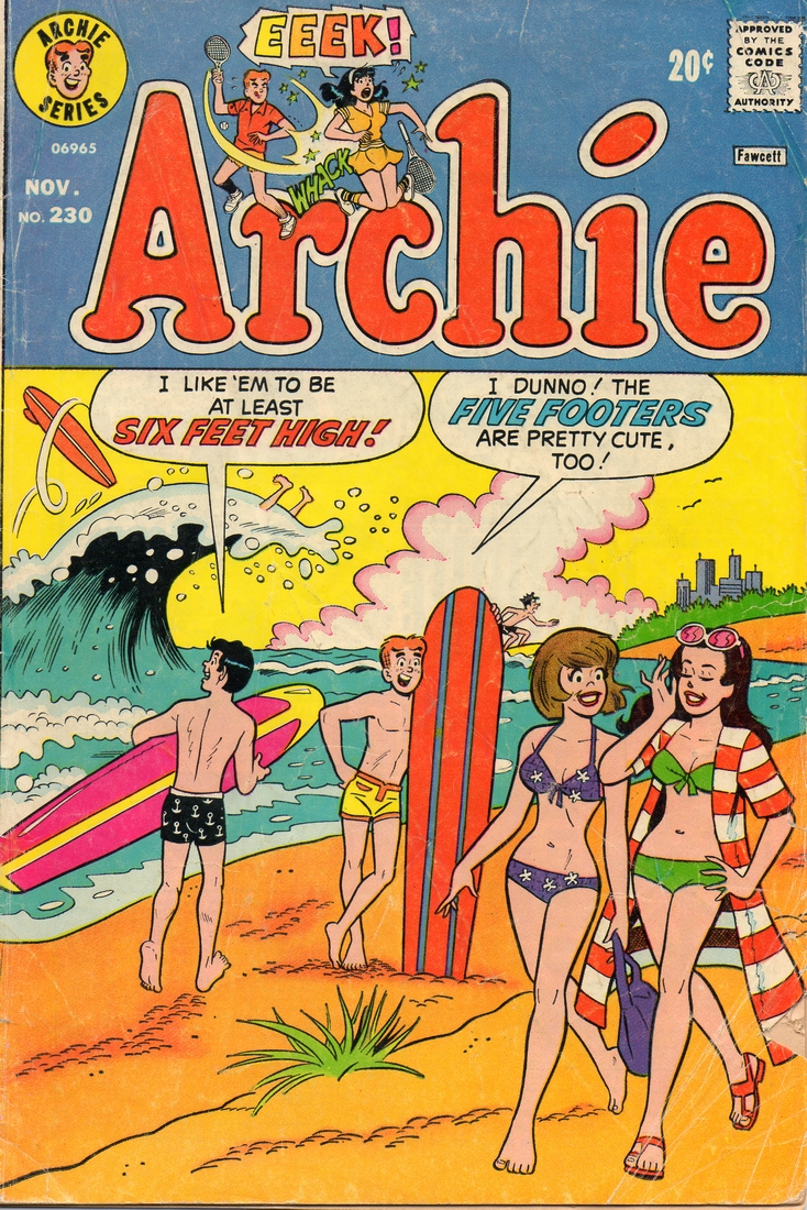 archie #230 cover by decarlo and lapick