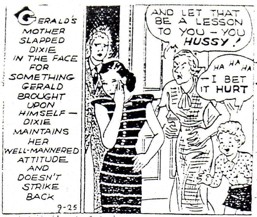 chicago spanking review comics page 2 dixie dugan