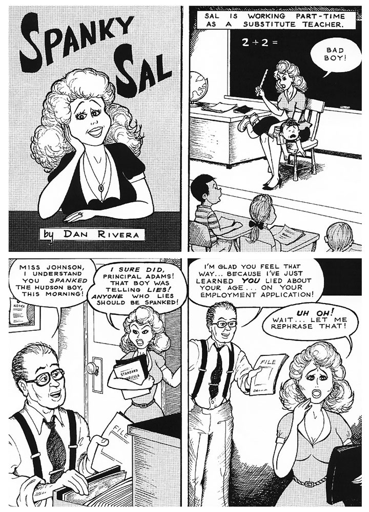 Teacher spank comics