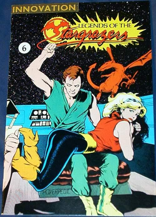 spanking on cover of stargrazers #6