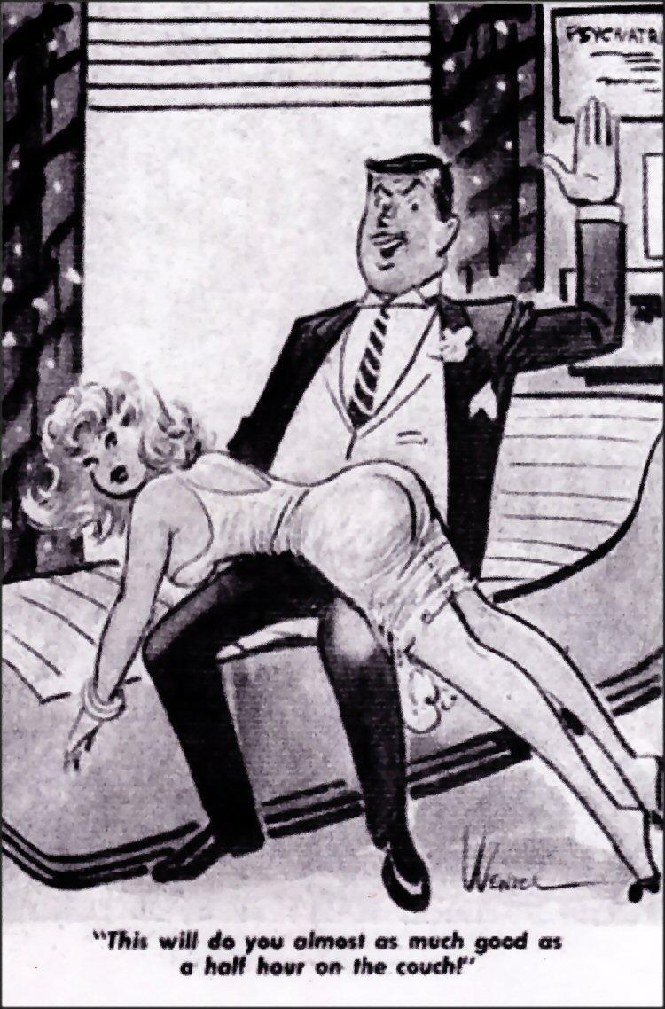 Bottoms up spank