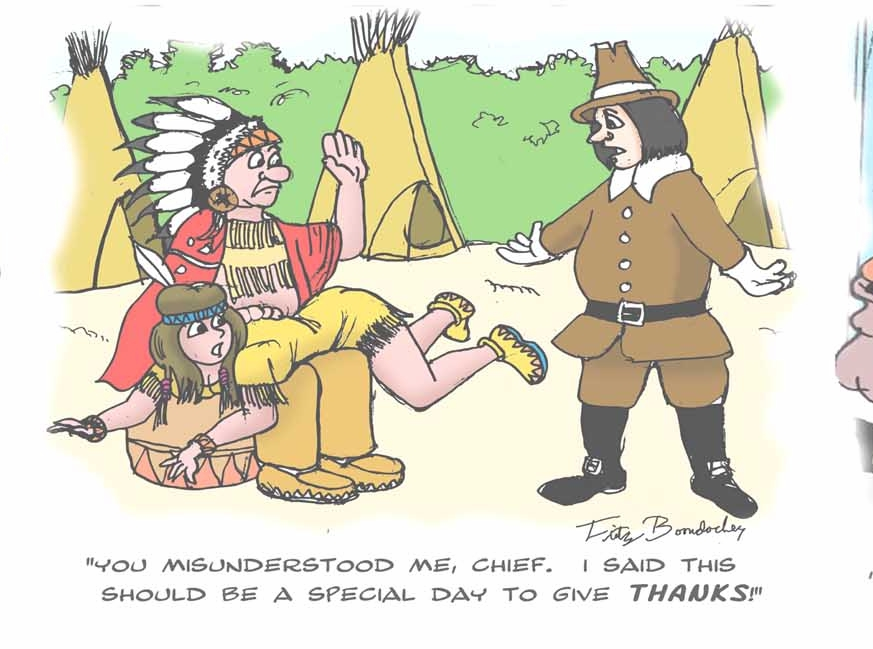 Thanksgiving spanking cartoons