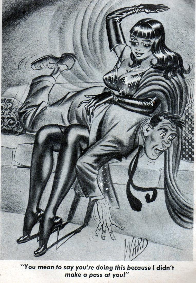 art women Bill spanking ward