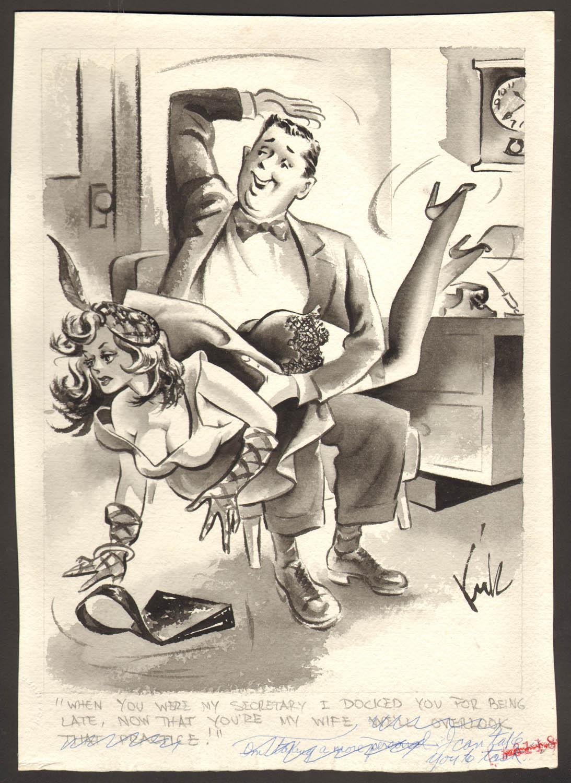 Wife spanking cartoons