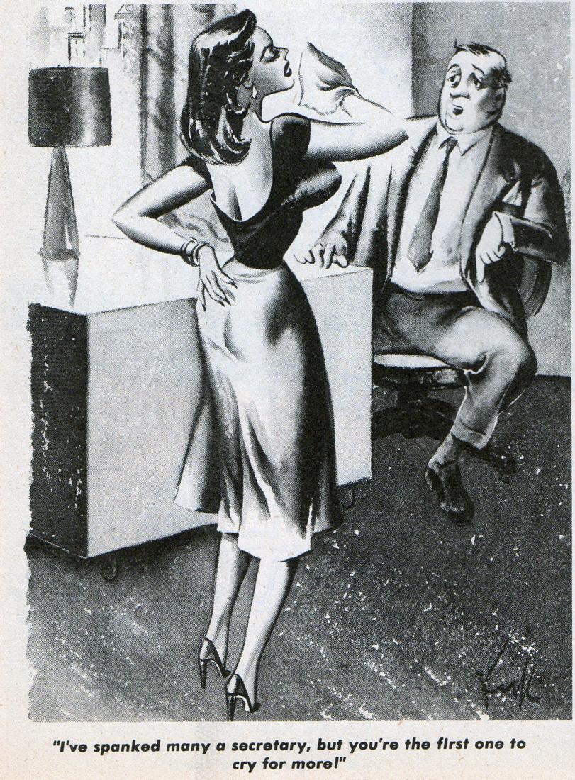 Vintage spanking cartoons