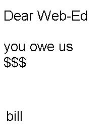 bill mock-up